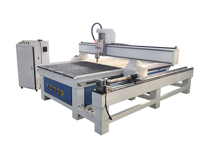 4x8 CNC Router with Rotary Axis