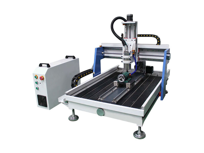 Small Desktop CNC Router with 4th Rotary Axis