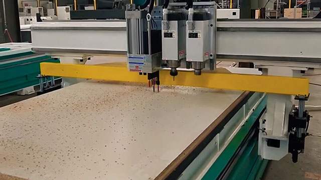 4x8 CNC Router Demonstration Video
