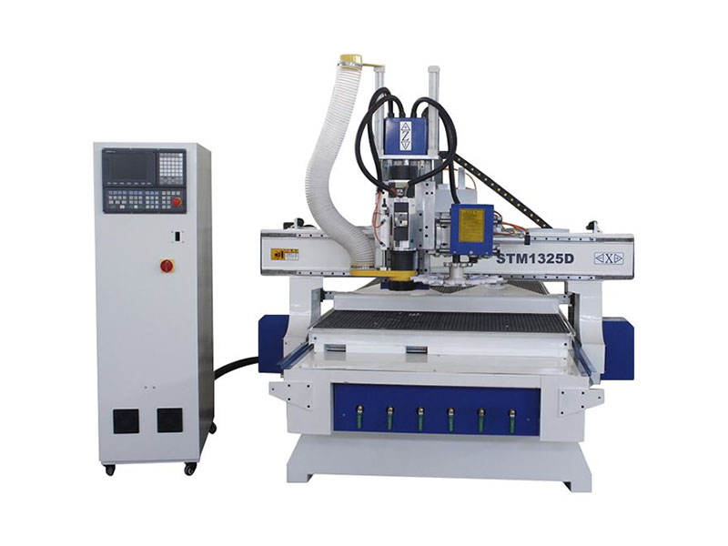 Smart CNC Router with Disc Automatic Tool Changer