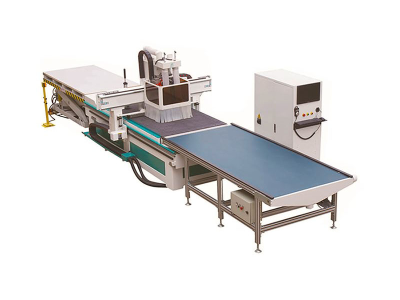 Smart CNC Router with Automatic Nesting System