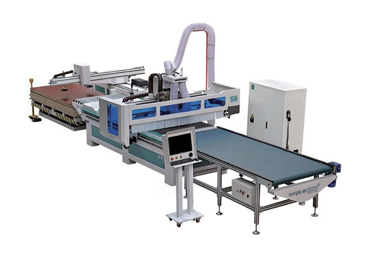Full Automatic Smart CNC Router Machine with Automatic Nesting System