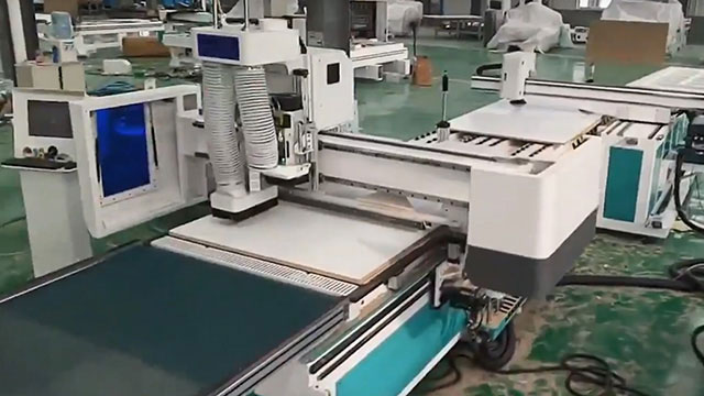 Automatic Nesting CNC Router Machine for Panel Furniture Production